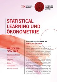 Statistical Learning und Ökonometriejpg